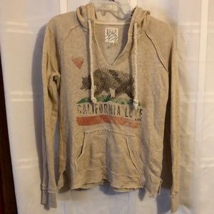 Billabong tan sweatshirt